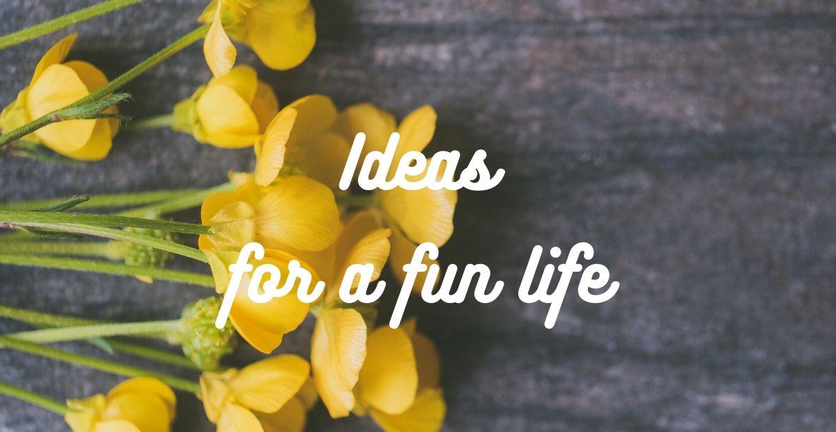 Ideas for a fun life